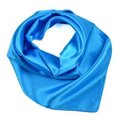 Small neckerchief 63sk001-30 - blue