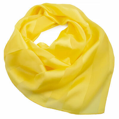 Square scarf - yellow
