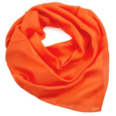 Square scarf - orange