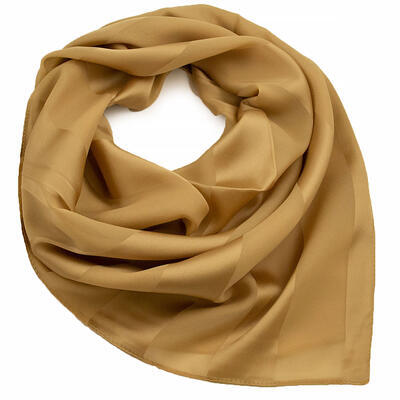 Square scarf - brown