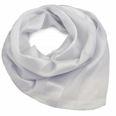 Square scarf - light grey - 1