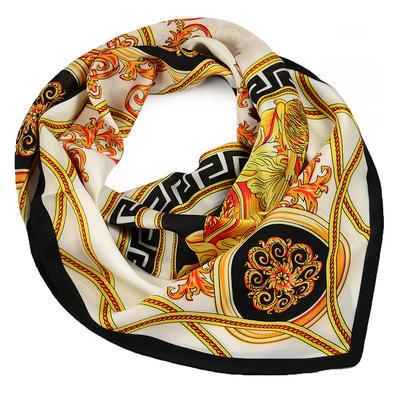 Square scarf - grey - 1