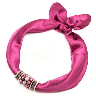 Jewelry scarf Stewardess - old rose - 1