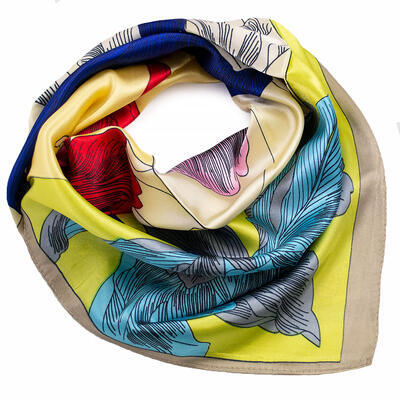 Small neckerchief - yellow - 1