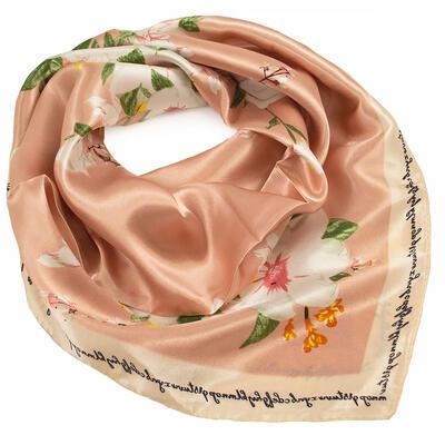 Small neckerchief - peach pink - 1
