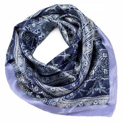 Small neckerchief - blue and white - 1