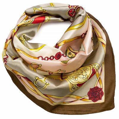 Small neckerchief - brown - 1