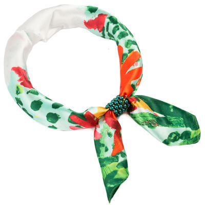 Jewelry scarf Stewardess Light - green - 1