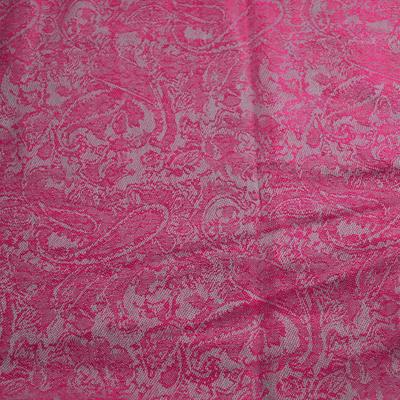Classic cashmere scarf - fuchsia pink - 2