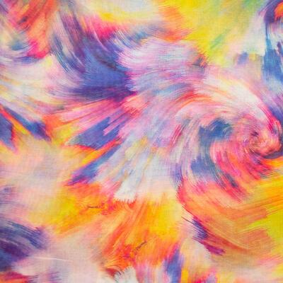Classic women's scarf - multicolor - 2