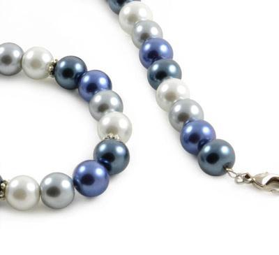 Necklace - Blue Wave - 2