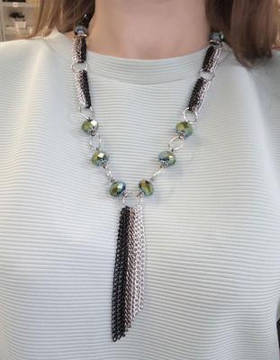 Angelina necklace - black - 2
