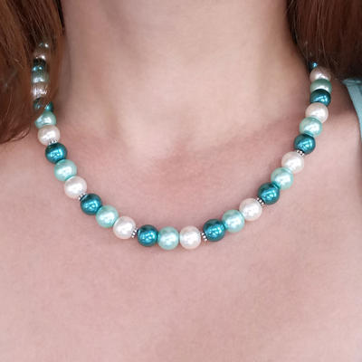Necklace - Blue Wave - 2