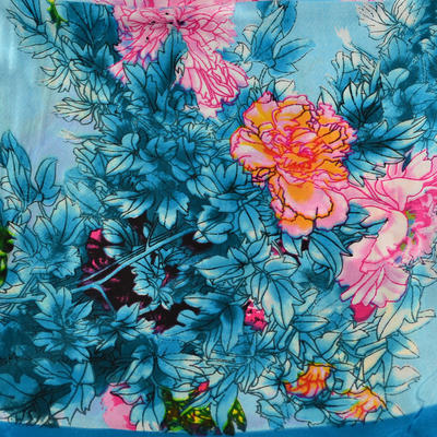 Small neckerchief 63sk004-32.23 - turquoise - 2