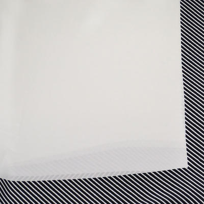 Square scarf - grey - 2