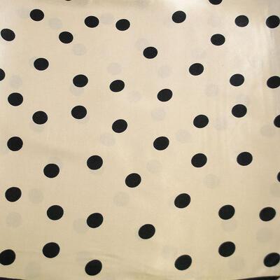 Small neckerchief - beige and black - 2