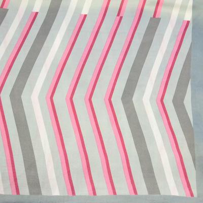 Small neckerchief 63sk004-01.20 - white and beige - 2