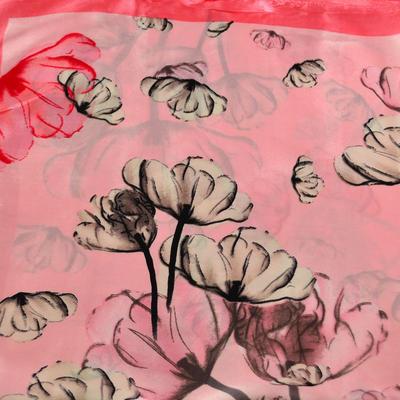 Small neckerchief 63sk004-23.27 - pink - 2