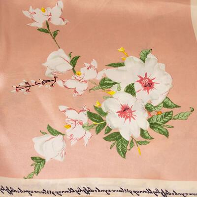 Small neckerchief - peach pink - 2