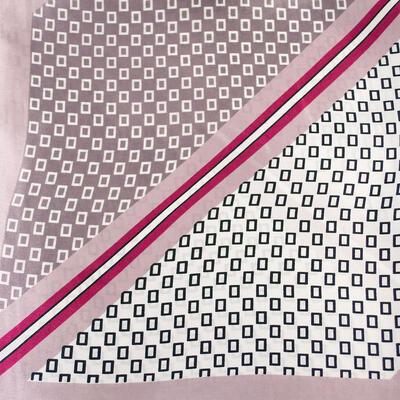 Small neckerchief - brown and white - 2