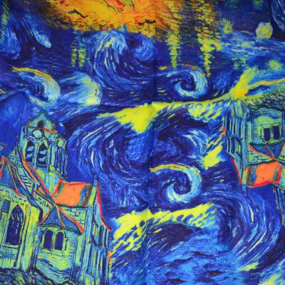 Small neckerchief - blue - 2