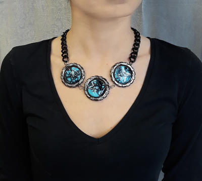Necklace - turquoise - 2