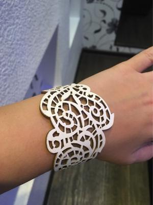 Bracelet Sabine - black&white - 3