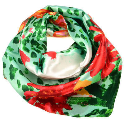 Jewelry scarf Stewardess Light - green - 3